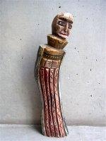 ニューメキシコ ウッドカービング 木彫り人形  [宣教師 ] ビンテージ
