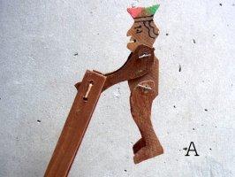 グアナファト 郷土玩具 [サーカス 鉄棒] フォークアート