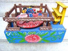 グアナファト カラクリ玩具 [闘牛] フォークアート