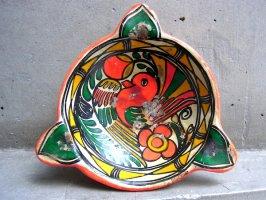 ゲレーロ 陶皿 アメヤルテペク  [ケツァル] ビンテージ