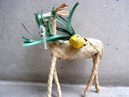 メキシコ もろこし人形 聖体の日[ムーラ スモール]  郷土玩具