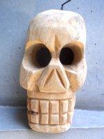 ウッドオブジェ 木彫り [カラベラ ナチュラル]  インテリア
