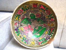 ゲレーロ 陶器 アメヤルテペク  [深皿 ボウル クジャク] ビンテージ