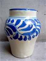 プエブラ タラベラ焼き [小壺 ベース]  陶芸