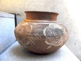 メキシコ 土器 [壺 テラコッタ]  ビンテージ