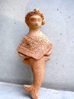 オアハカ 陶芸 人魚  [ホセ・ガルシア工房  ポンチョを着たインディヘナ] サン・アントニーノ