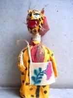 ゲレーロ ボトル人形  [ジャガー トクアノのダンス] フォークアート