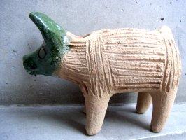 オアハカ 陶器 チア人形  [ブタ]