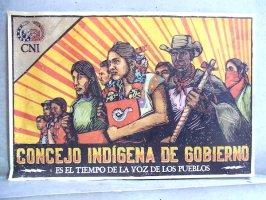 サパティスタ EZLN ポスター 「グランOM CNI」