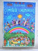 サパティスタ EZLN ポスター 「人類共有フェステバル」