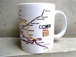 メキシコシティ マグカップ  [CDMX メトロ] キッチン