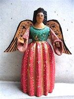 ウッドカービング 木彫り人形  [大天使 ガブリエル] ビンテージ