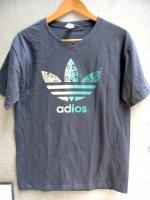 ルチャリブレ Tシャツ [アディダス アディオス チャコール]  Lサイズ
