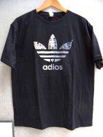 ルチャリブレ Tシャツ [アディダス アディオス ブラック] X Lサイズ