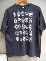 ルチャリブレ Tシャツ [25ルチャドーレス 霜降りチャコール] X Lサイズ
