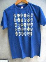ルチャリブレ Tシャツ [25ルチャドーレス  アイアンブルー] Mサイズ