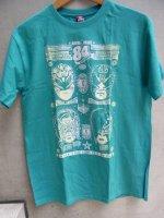 ルチャリブレ Tシャツ [NロハvsGゲレーロ エメラルド] Lサイズ