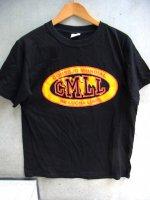 ルチャリブレ Tシャツ [CMLL ブラック] Lサイズ