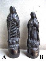 オアハカ 黒陶 バロネグロ  [聖母グアダルーペ]