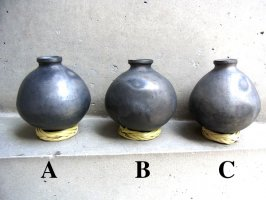 オアハカ 黒陶 バロネグロ  [メスカル壺 スモール]