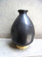 オアハカ 黒陶 バロネグロ  [メスカル壺 楕円 スモール]