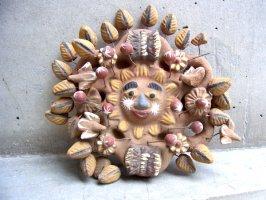 メテペック 陶芸  [ナチュラル 太陽の樹]  ビンテージ