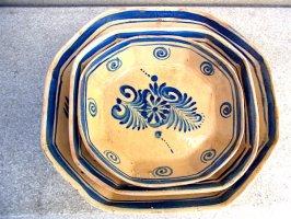 プエブラ 陶器 タラベラ焼き  [組み皿 プレートセット] ビンテージ