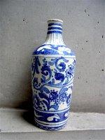 プエブラ 陶器 タラベラ焼き  [ボトル] ビンテージ