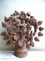 生命の樹 ツリーオブライフ メテペック [モデスタ・フェルナンデス 31cm ] ビンテージ