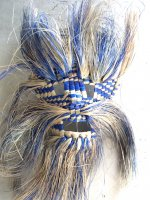 タスコ マスク シュロの仮面  [ブルー]  民芸