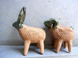 オアハカ アツォンパ 陶器 チア人形  [スモールサイズ]