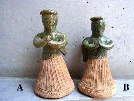 オアハカ アツォンパ 陶器 チア人形  [スモール 天使]
