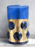 F・デルフリンゲル フェーダーズ [インプリゾン グラス ブルー ビッグ] ビンテージ