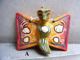 ゲレーロ ウッドオブジェ  [マリポーサ 蝶] ビンテージ