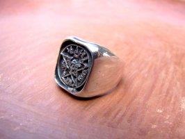 リング 指輪  [テトラグラマトン] シルバー