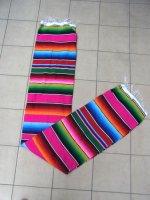 サラペ メキシカンラグ マット [ピンク] 200×140cm