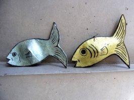 メキシコ パペルマチェ 張り子 [魚]  ビンテージ