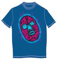 ルチャリブレ マスクマン Tシャツ [マスクマンの光景]