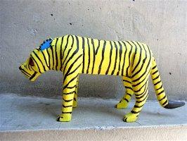 ウッドカービング 木彫り サンチアゴファミリー  [カリスト トラ]