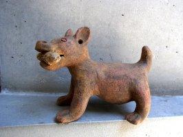 トナラ 陶芸 オブジェ  [アステカ犬 チワワ] 復刻品