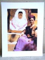 フリーダカーロ ピクチャー カード [テワナの花嫁と肖像 ポートレイト]