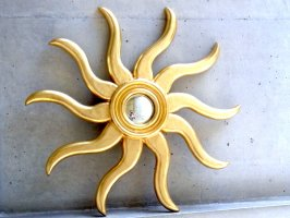 メキシコシティ オハ・デ・オロ 金鏡  [ソル 太陽 52cm]