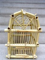 オアハカ トラコルーラ ハウラ [竹の鳥かご 36cm]