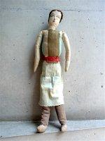 プエブラ クロス・ドール   [布人形 キッチンレディ] ビンテージ