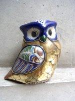 トナラ 陶芸品  [フクロウ] ビンテージ