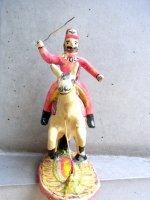 プエブラ イスカール  陶人形 [フランシスコ・フローレス サンティアゴ] ビンテージ