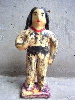 プエブラ イスカール 陶人形  [フローレス ターザン] ビンテージ