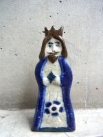 トナラ 陶芸 陶板人形  [聖人 ヨセフ]