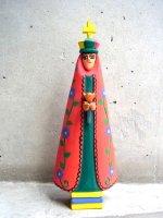 ウッドカービング 木彫り サンチアゴファミリー [A・ペレス 聖人ソレダー] ビンテージ