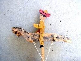 グアナファト 郷土玩具 [チャロ カウボーイ] フォークアート